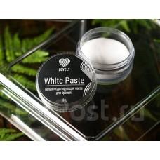 Белая моделирующая паста для бровей White Paste Lovely