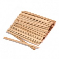 Шпатели мини для лица деревянные одноразовые 100 шт